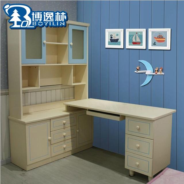 Korean garden bedroom desk children desk study desk furniture ...