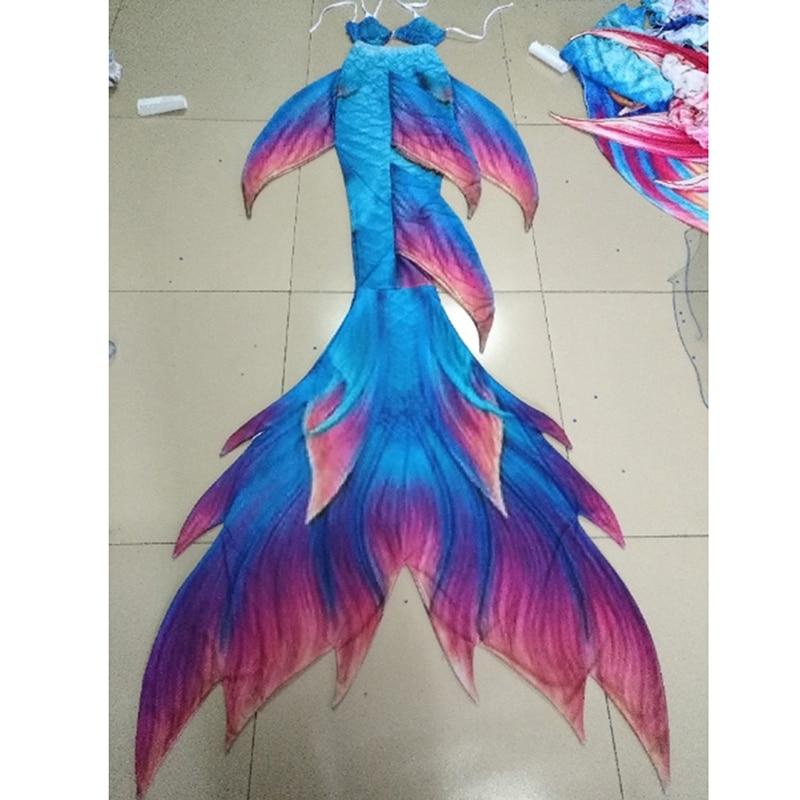 custom mermaid tail Swimmable tail Bikinis women mermaid tail swimsuit beach resort necessary swimwear women Vacation