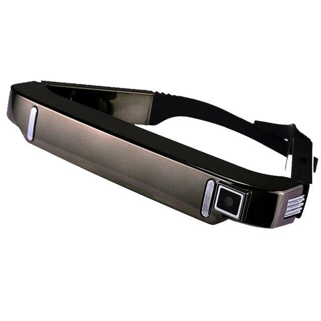 3D VR очки Wi-Fi MTK6582 4 ядра 1 ГБ + 2 ГБ Супер Smart retina Очки виртуальной реальности Гарнитура с 5.0MP камера