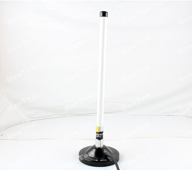Dual band 144/430MHz compact size taxi fiberglass magnet base antenna