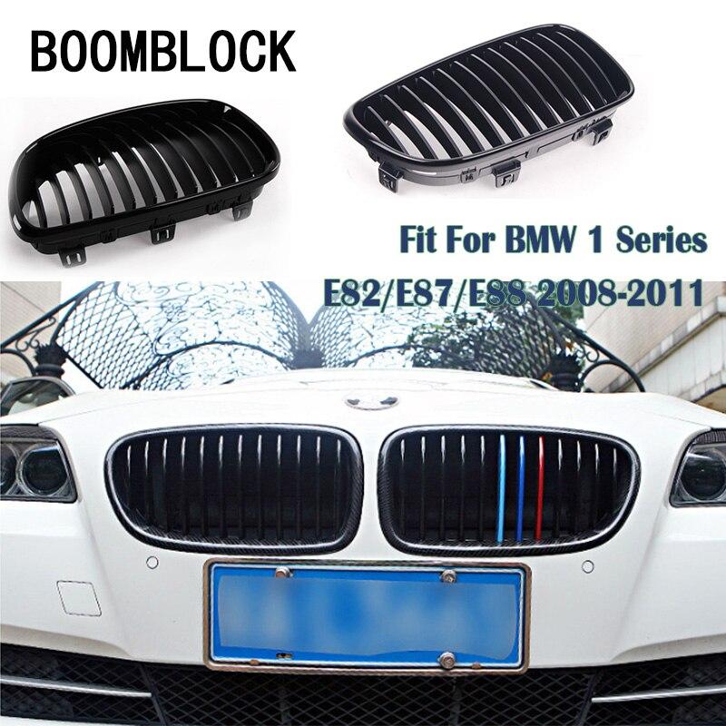 BM 1 Series E81 E87 E82 E88 2008-2011 Performance Front Grille Matte Black