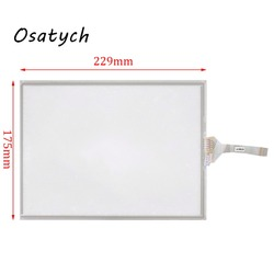 10.4 Inch 8 Draad Resistive Touch Screen Panel Voor Gunze G10401 228 Mm * 175 Mm Touch Panel Glas