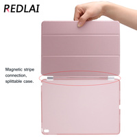 Case For IPad 9 7 Inch 2017 Magnetic PU Leather Ultra Slim Light Weight PC Back