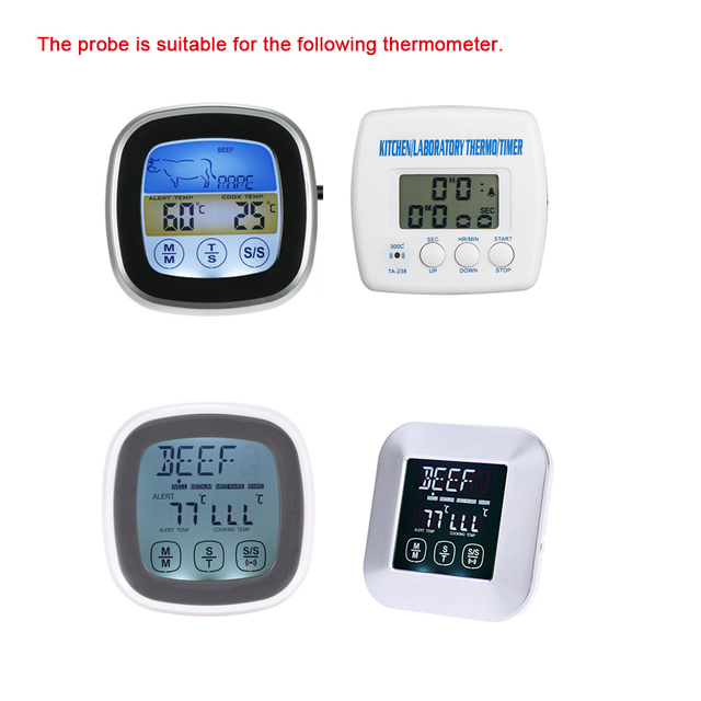 MOSEKO Thermometer extra probe for backup use