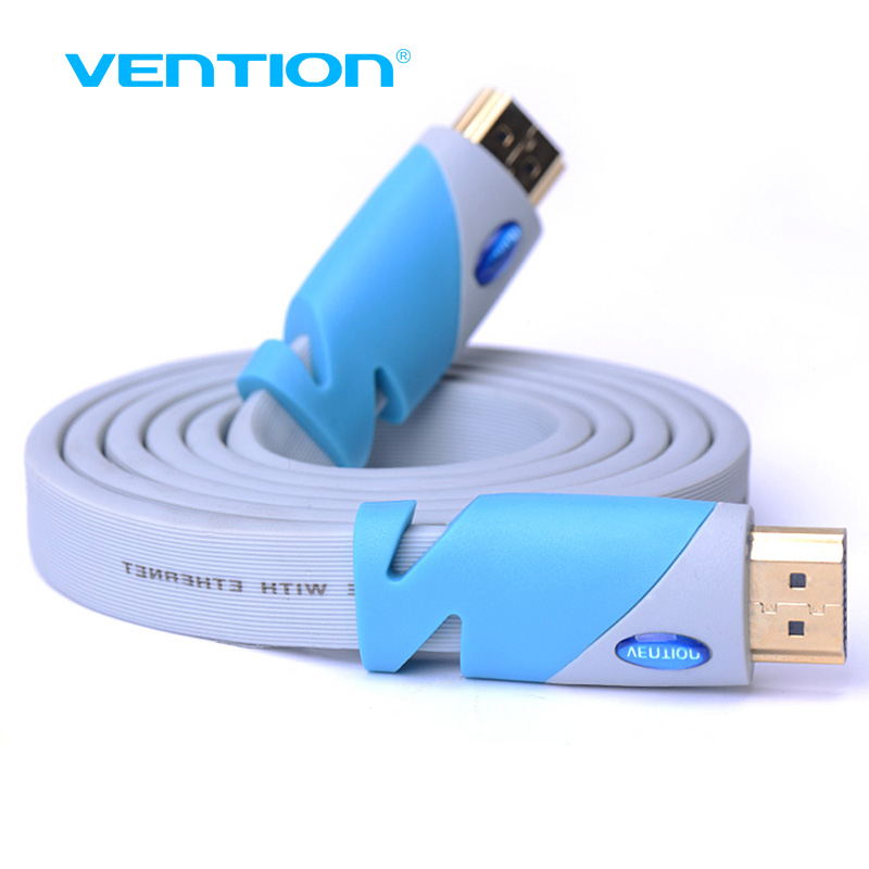 Vention HDMI Cable HDMI male to HDMI male Computer Cable 1.4 1080P 3D for PS3 projector HD LCD Apple TV computer Cabo HDMI 1m 5m
