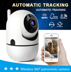 HD 1080 P chmura kamera IP 720 P bezprzewodowy inteligentny automatyczne śledzenie człowieka bezpieczeństwa w domu sieć Wifi kamery w Kamery nadzoru od Bezpieczeństwo i ochrona na
