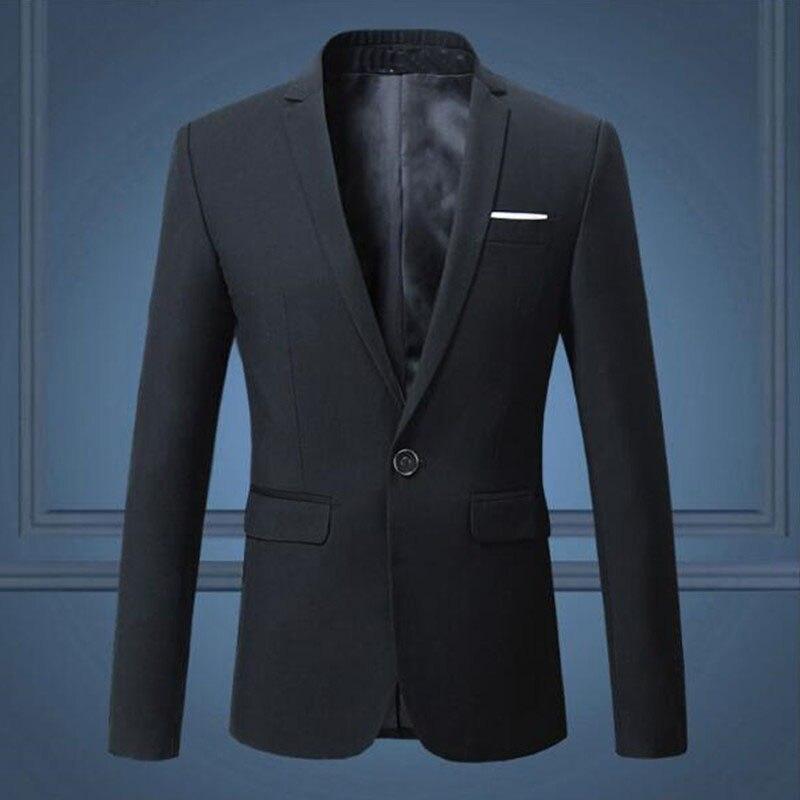 Smoking Casual Männer Y Weiß 490 marineblau Taste Mantel