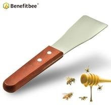 цена на Benefitbee Bee Hive Frame Honey Scraper Honey Harvest Collecting and Cleaning Beehive Beekeeping Equipment