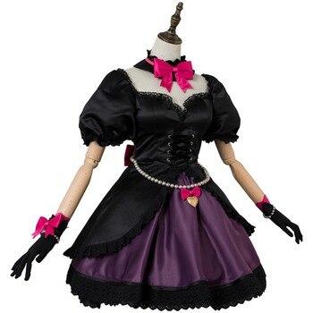 OW Game Cosplay Hana Song  DVA Cosplay Costume OW DVA Black Cat Officer Dress Cosplay Costume Halloween Carnival Cosplay Costum 3