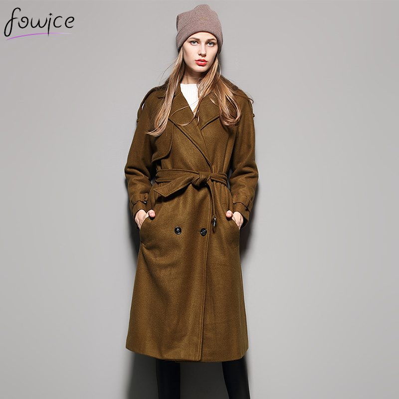 Online Get Cheap Long Brown Wool Coat -Aliexpress.com | Alibaba Group