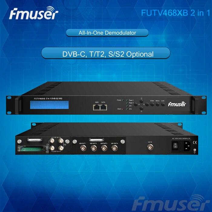 FUTV468xB 2 CAM 2 FTA DVB-C,T/T2,S/S2 IRD 4ASI IP Out