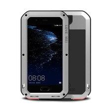 אלומיניום מתכת שריון מקרה עבור Huawei P20 לייט עמיד הלם כיסוי עבור P20pro מלא גוף Huawei P10 בתוספת Mate10 גורילה