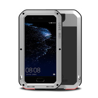 Aluminum Metal Armor Case for Huawei P20 Lite Shockproof Cover for P20pro Full Body Cases for Huawei P10 Plus Mate10 Gorilla