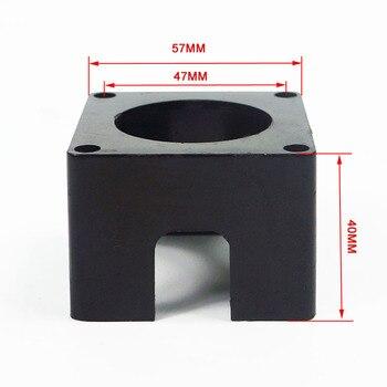 plastic Nema 23 Bracket stepper motor bracket Stepper accessories Mount fixed support Support Shelf