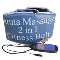 2 in 1 Electric Vibrating Sauna massage Fitness Belt Body Health care beauty Massager Heating tone RELAX TONE fat weight losing