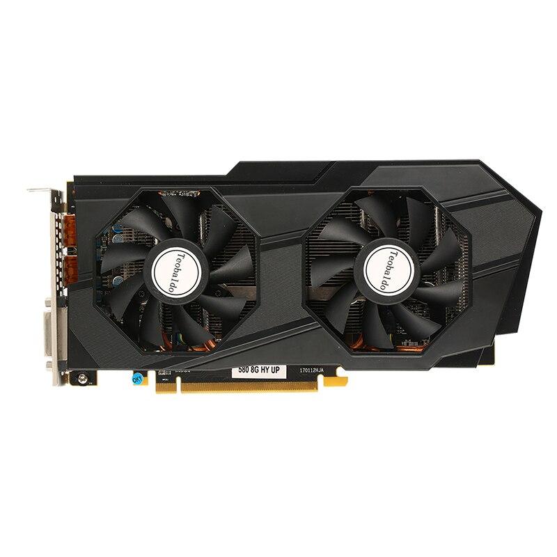 וידאו כרטיס גרפי משומשים Radeon גרפי RX580 8 GB GDDR5 PCI Express x16 3.0 8000 MHz וידאו גיימינג גרפי כרטיס חיצוני כרטיס גרפי עבור שולחן (1)