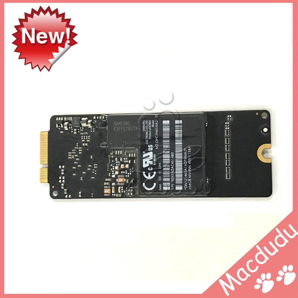 256GB SSD Board For 13.3 Macbook Pro Retina A1425 MD212 MD213 Mid 2012 i o board usb sd card reader board 820 3071 a 661 6535 for macbook pro retina 15 a1398 emc 2673 mid 2012 early 2013