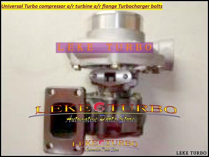 Universal Turbo GT35-2 Compressor AR 0.70 Wheel 66.6mm Turbine AR 0.63 T3 flange 5 bolt Oil Cooled Journal bearing Turbocharger kinugawa turbine outlet steel flange 5 bolt f rd falcon xr6 g rr tt gt3540 turbo 412 03002 006
