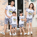 Free Shipping Summer Family Look Matching Clothing camouflage mother daughter father son t shirt Shorts Sets girls boys Outfits