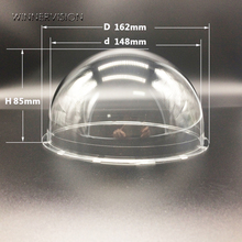 162x85mm CCTV Security Surveillance Acrylic Dome Camera Housing Cover Antidust keep Lens clean Protect Housing