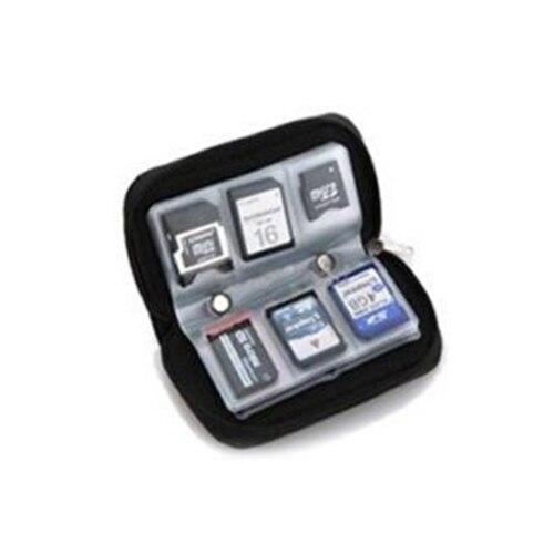 Image 4 - SD SDHC MMC CF MicroSD карта памяти чехол держатель кошелек-in Чехлы для карт памяти from Компьютер и офис