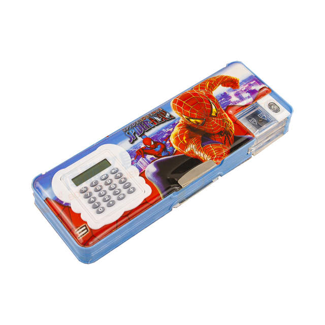 US $7 99 |Disney Mickey Student Cartoon frozen stationery Box  Multifunctional Calculator Triangle Ruler Pencil Case Box for kids gift-in  Pencil Cases