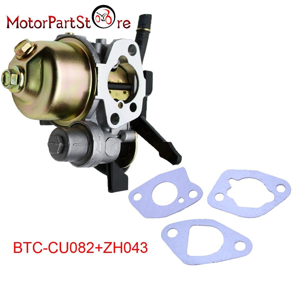 Carburateur Avec Tuyau De Carburant /& Gasket 16100-ZH8-W61 pour Honda GX160 GX200 5.5HP 6.5HP