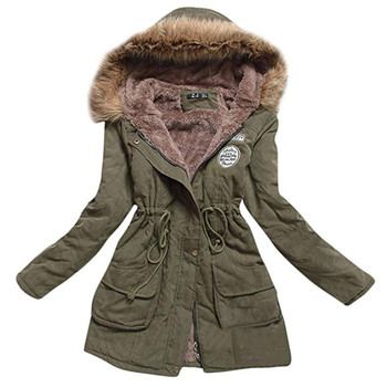 AiiaBestProducts Women Parkas Warm Plus Size Hooded 1