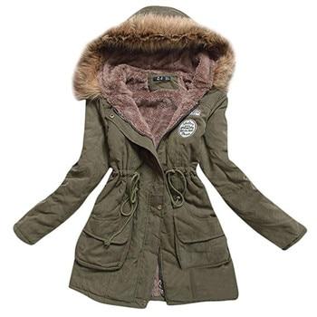 AiiaBestProducts Women Parkas Warm Plus Size Hooded 1