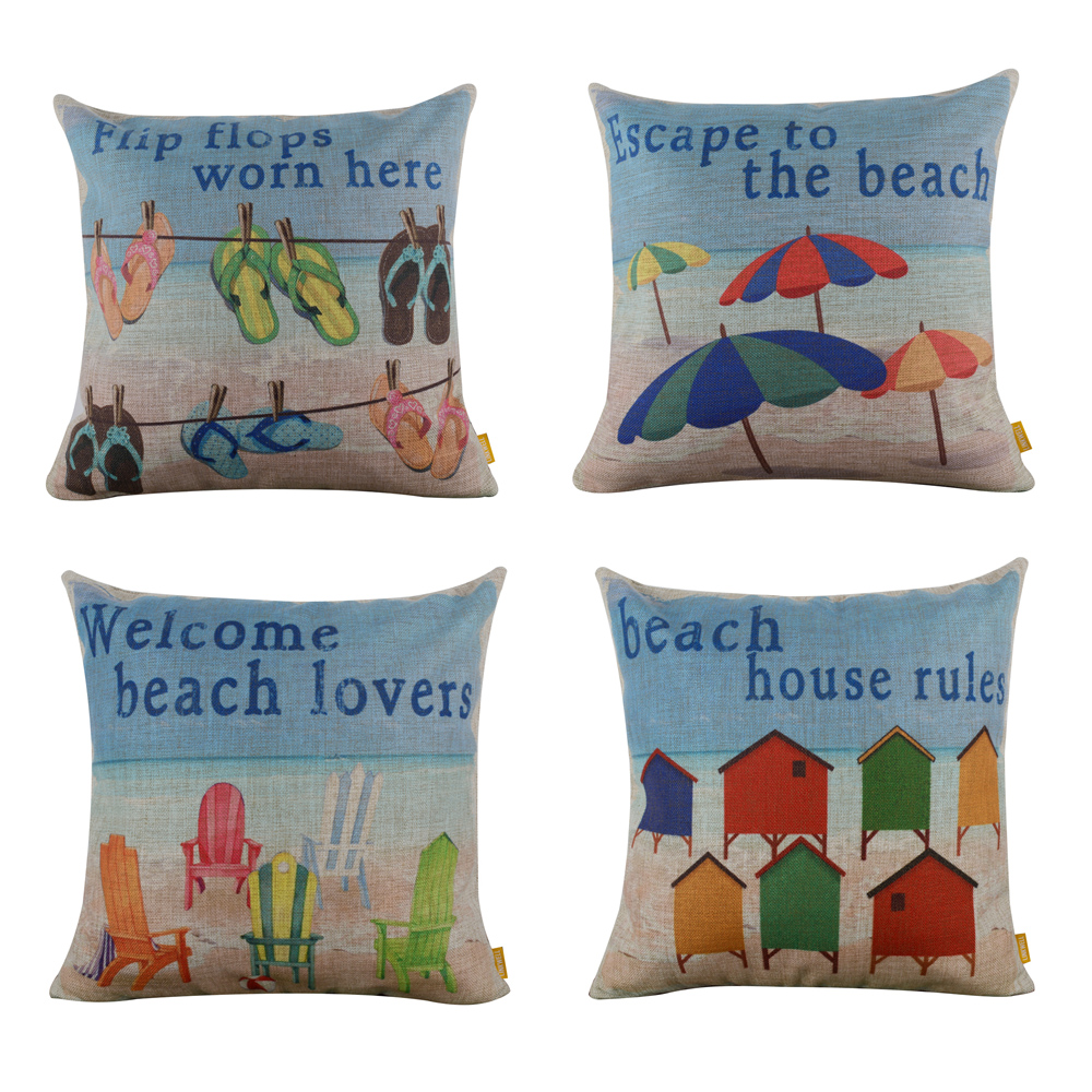 Inexpensive Beach Throw Pillows : Popular Decorative Beach Pillows-Buy Cheap Decorative Beach Pillows lots from China Decorative ...
