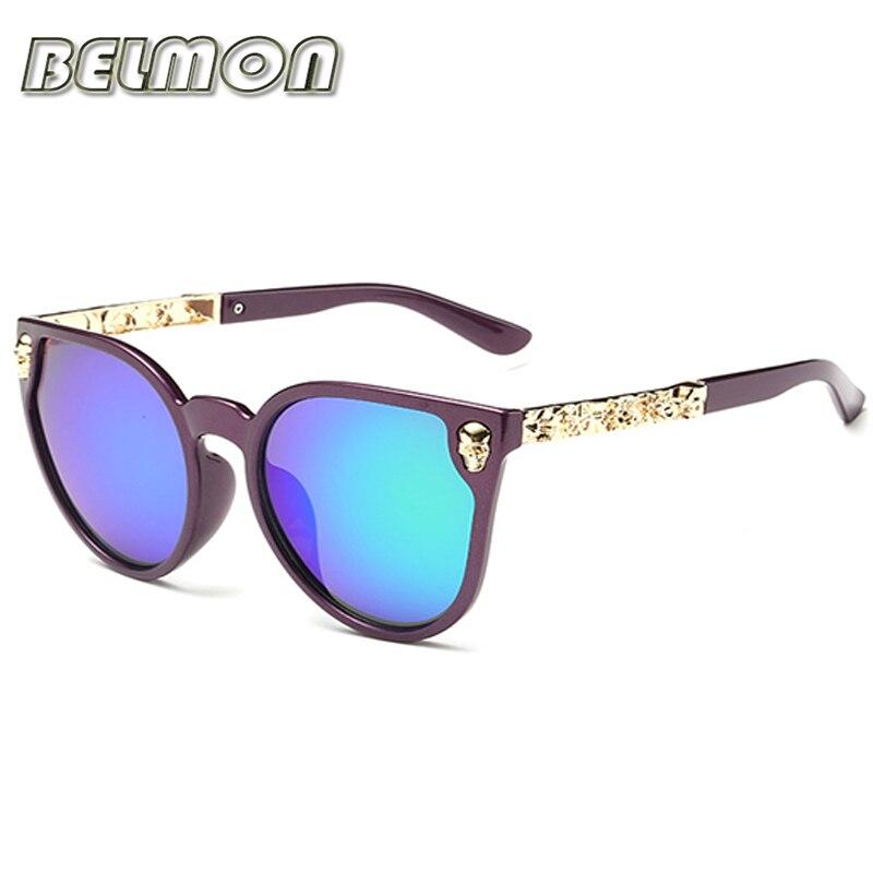 Fashion Sunglasses Women Luxury Brand Designer Classic Skull Sun Glasses For Ladies UV400 Anti Reflective Female de RS102 in Women 39 s Sunglasses from Apparel Accessories