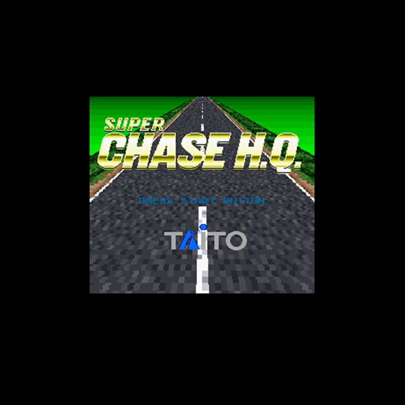 The Chase Big W 16: Super Chase H.Q. 16 Bit Big Gray Game Card For NTSC Game