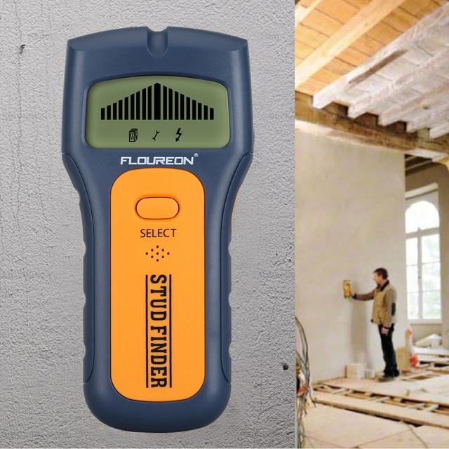 Floureon 3 In 1 Metalldetektoren Finden Metall Holz Studs AC ...