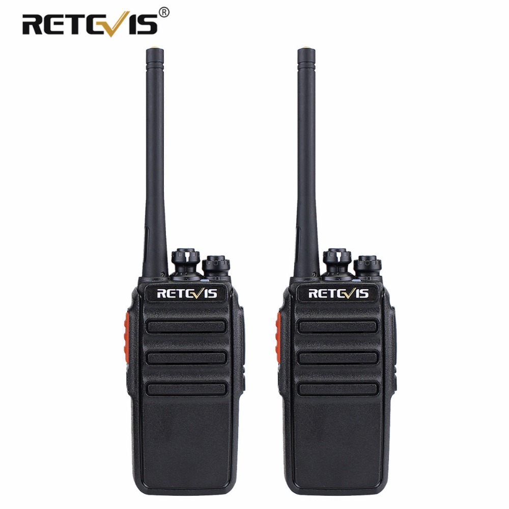 2 pz Retevis RT24 PMR Walkie Talkie Licenza 0.5 w 16CH UHF 446 PMR446 Scrambler VOX Portatile A Due way Radio Transceiver Hf