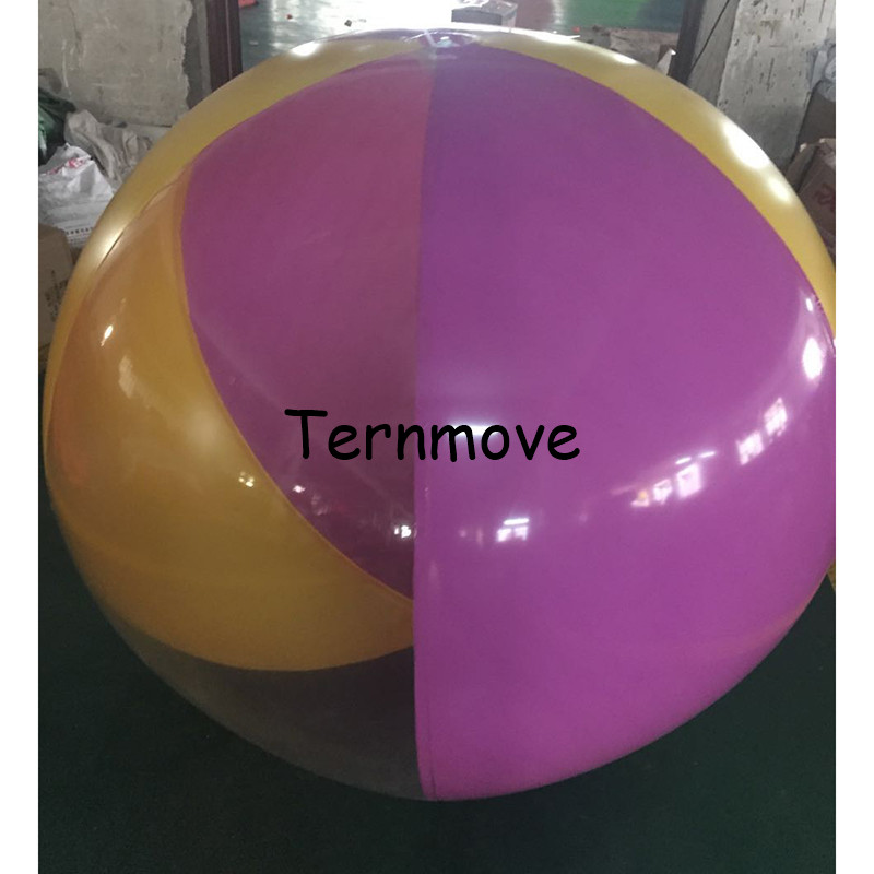 beach rolling ball colorful inflatable beach ball for summer water park, children big inflatable ball for lawn atlanta ath 882 pink фен