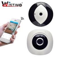 Wistino HD 960P WIFI IP Camera Fisheye Wireless Baby Monitor Panoramic 360 Degree CCTV Camera VR