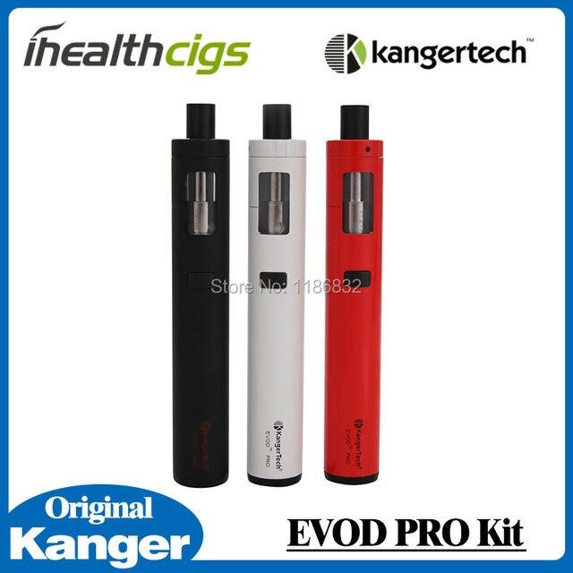 100% Оригинал Kanger Evod Pro Комплект Все в Одном Дизайн Starter Kit 4 мл Наполнению Сверху