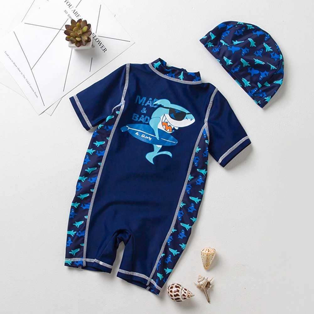 Chumhey/От 0 до 5 лет, брендовый купальный костюм для маленьких мальчиков, УФ 50 + защита от солнца, цельный купальный костюм для младенцев, для дайвинга, серфинга