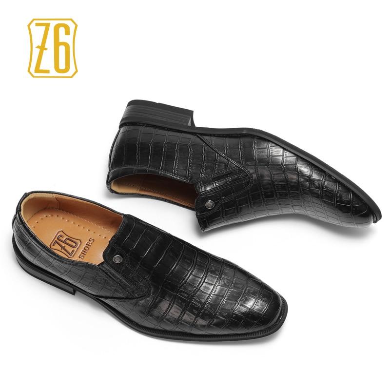 1 Suave Del Clásico Puntiagudo 2017 Negro Dedo Z6 2017w6263 Empresa Marca Vestido Hombres Zapatos Pie Hombre Formales 0CwxZqP