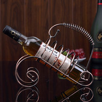 New Unique Pirates Wrought Iron Drunkard Wine Creative Wine Furnishing Articles Ornaments Household Goods