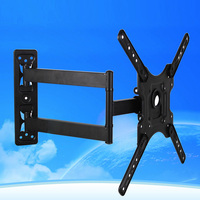 Swivel Mount TV Wall Bracket Multimedia Hanger For 14 To 46inch HDTV Flat Panel Television Quick