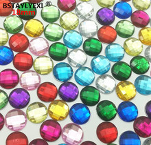 Buy flat back acrylic rhinestones clear and get free shipping on  AliExpress.com 0e333dbcd2ed