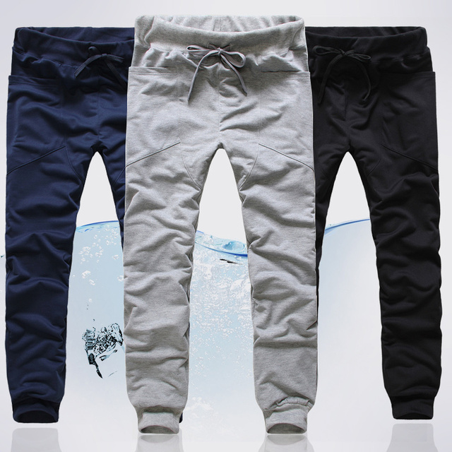 Los nuevos Hombres Frescos Harem Pantalones Casual Pantalones Al Por Mayor o Al Por Menor de Los Hombres Pantalones Casuales/floja 3 color Tamaño: M-XXL
