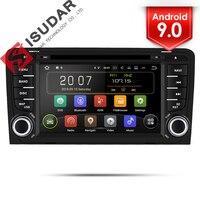 Isudar 2 Din Авто Радио Android 9 для Audi A3 8 P/A3 8P1 3 дверей/S3 8 P/RS3 Sportback автомобилей мультимедийного gps DVR