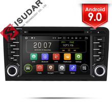 Isudar 2 Din Auto Radio Android 9 Per Audi A3 8 P/A3 8P1 3-door Hatchback/ s3 8 P/RS3 Sportback Car Multimedia Video Player GPS DVR