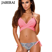 JABERAI Sexy Bikini 2017 Women Swimsuit Push Up Swimwear Criss Cross Push Up Bandage Bikini Set