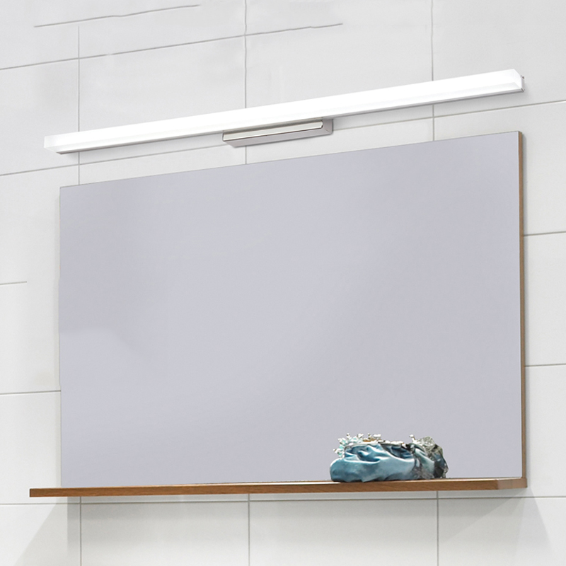 89 cm-es, 20W-os fürdőszobás LED-es tükörfényű, modern fali lámpa lampada de led lámpatestek
