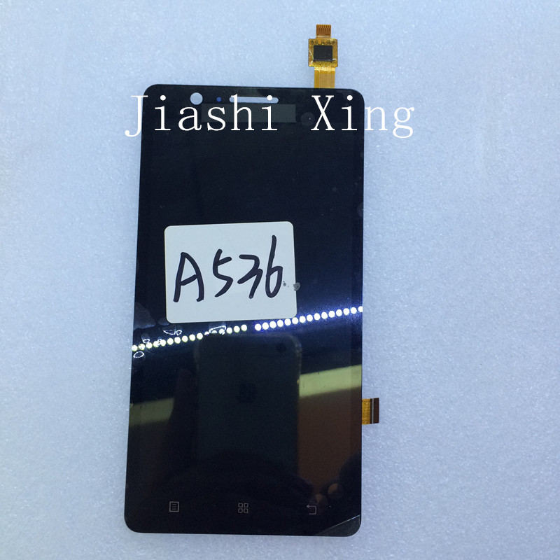 A536 LCD Display+Touch Screen Panel Digitizer Accessories For Lenovo A536 5.0inch Smartphone Free Shipping+Track Number vibe x2 lcd display touch screen panel with frame digitizer accessories for lenovo vibe x2 smartphone white free shipping track