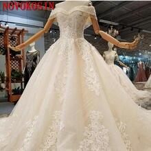 Новинка 2019 Роскошные свадебные платья с открытыми плечами