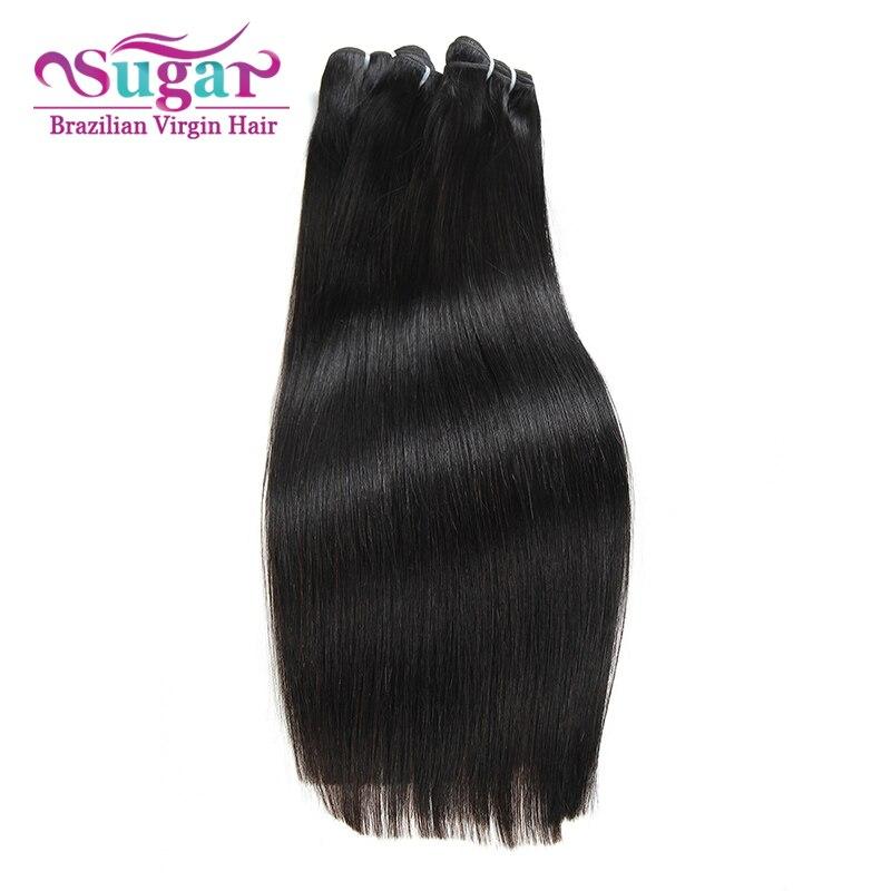 Brazilian Virgin Hair Straight 3 Bundles Deal 7A Sugar Virgin Hair Brazilian Straight Hair 1B Brazilian Wet and Wavy Hair Weave